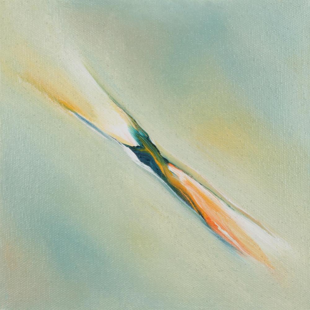 UP IX 2 2012 - olio su tela - cm.20x20