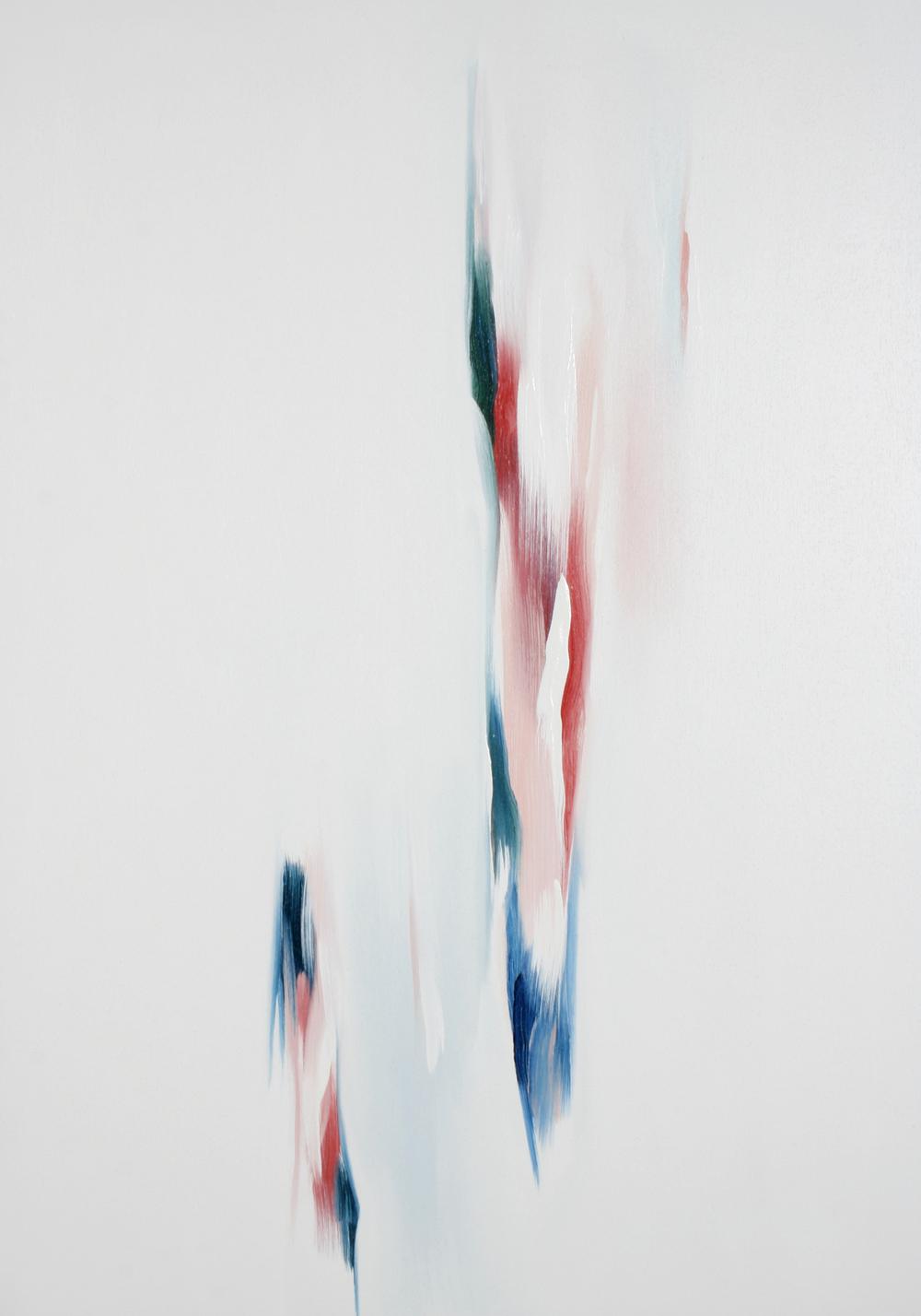 UW IX 2 2007 - olio su tela - cm.100x70