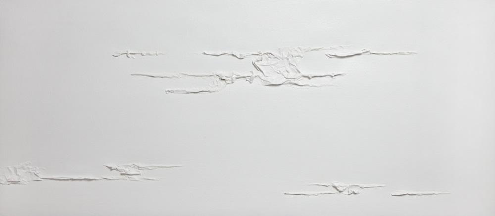 W IV 1 2018 - multimaterico su tela - cm70x160